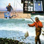 Łowienie z morskiego wybrzeża